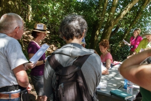 From the 2014 Hike & Write at Deception Pass State Park. Photo courtesy of Dave Wenning.